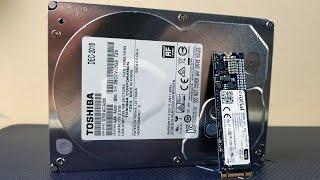 собираем Китайский Компьютер #1 SSD Crucial CT275MX300SSD4 275GB и HDD Toshiba DT01ACA200 2TB TomTop