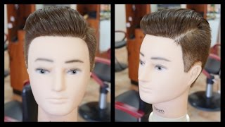 Austin Mahone NEW Pompadour Haircut Tutorial - TheSalonGuy