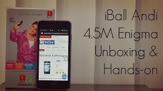 iBall Andi 4.5M Enigma Review Videos