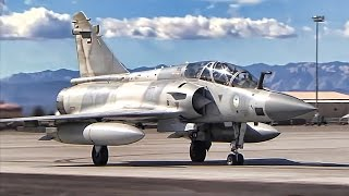 UAE Mirage 2000 Fighter Jets At Nellis AFB