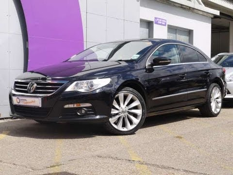 2009 volkswagen passat cc sport 3 6 v6 300 bhp black 4d for sale in hampshire youtube. Black Bedroom Furniture Sets. Home Design Ideas
