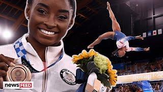 Simone Biles RESPONDS To Claims She 'QUIT' Olympics