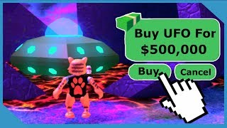 BUYING THE $500,000 UFO - ROBLOX JAILBREAK ALIEN UPDATE