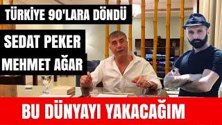 Sedat Peker Mehmet Ağar Pelikan Savaşı/ Sedat Peker'i Harcadılar Sedat Peker Ome