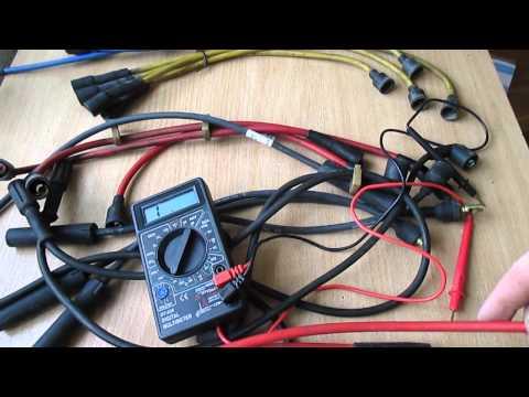 Как проверить сопротивление бронепроводов мультиметром
