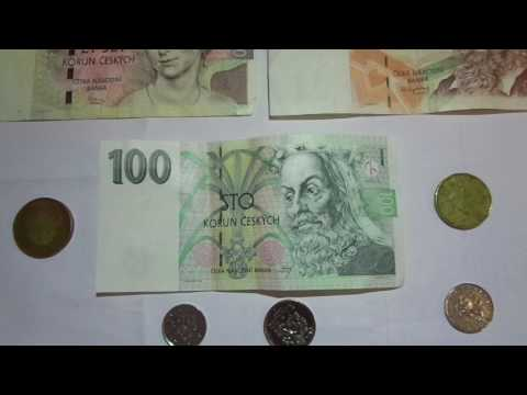 Prague, Czech Republic - Exchange Rate: Czech Kroner Vs U.S.$$