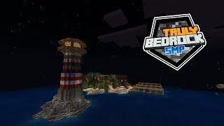 Shopping and Finishing the Lighthouse! - Truly Bedrock - EP04