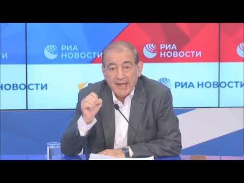 مؤتمر صفحي للدكتور قدري جميل حول آخر مستجدات الأزمة السورية 19/10/2021  - 16:55-2021 / 10 / 19