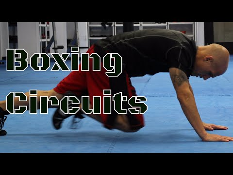 Circuit Training for Boxing   Can You Do This Workout?   Bootcamp Conditioning