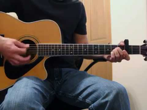 Home - Chris Tomlin - Guitar Lesson - YouTube