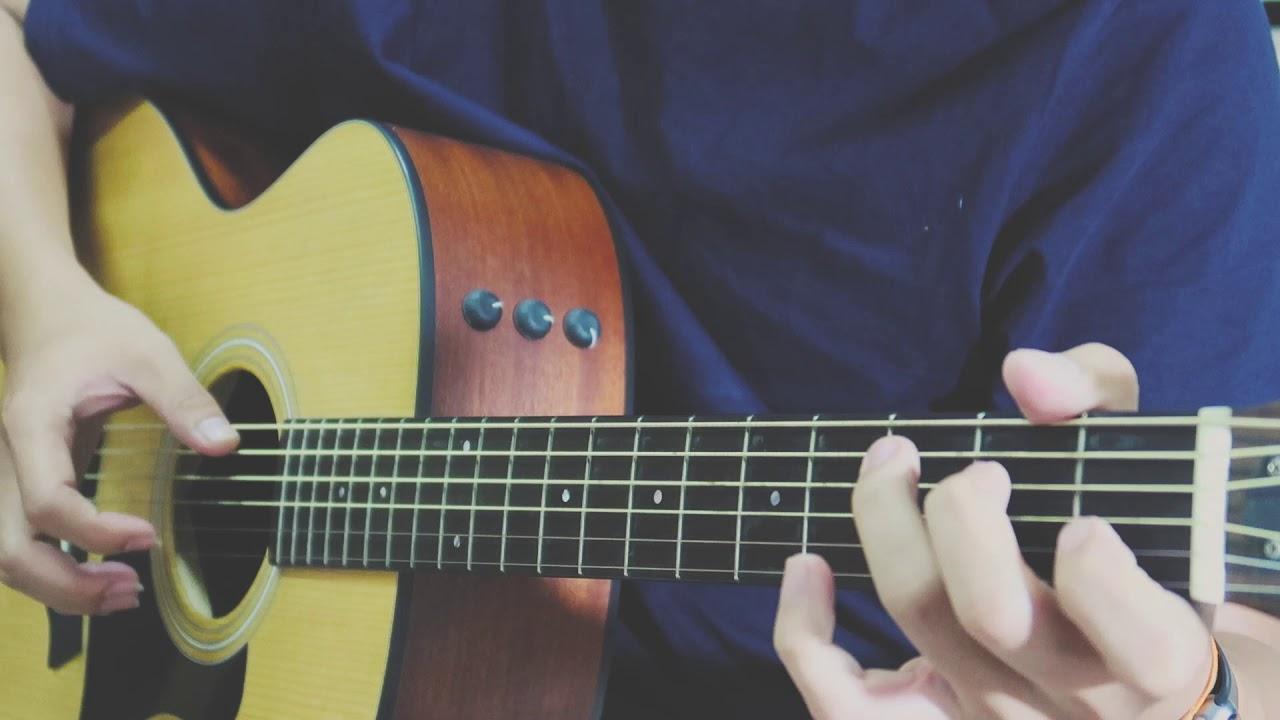 LẦN CUỐI (đi bên em xót xa người ơi) Guitar Solo