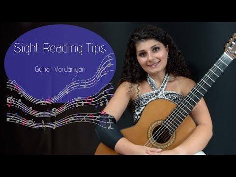 Basic Sight Reading Tips | Gohar Vardanyan
