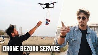 BIER BEZORGEN MET DRONE!