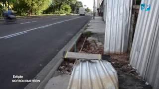 Sem calçada