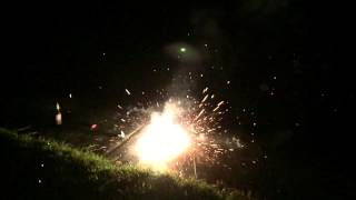 Fireworks In Slow Motion- 240 Fps Iphone 6 (4th Of July)