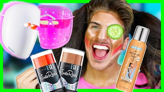 Repeat youtube video TESTING DRUG STORE GIRL PRODUCTS!