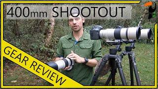 Photography Equipment - Canon 400mm Shootout (400mm f/5.6 vs 100-400mm vs. 300mm f/4 + 1.4x)