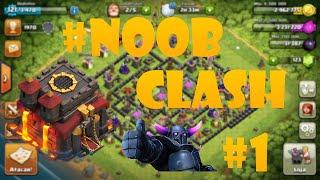 Clash Of Clans: Como Fazer 3 estrelas em CV9 #NOOBCLASH #1