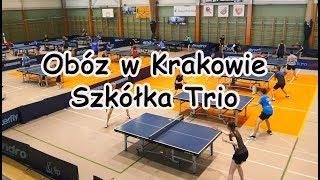 Obóz w Krakowie. Szkółka Trio - Tenis Stołowy
