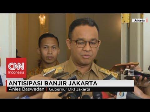 Menanti Solusi Banjir Jakarta dari Gubernur Anies Baswedan