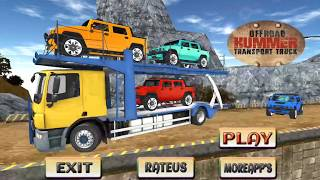 Offroad Hummer Transport Truck - Best Android Gameplay HD