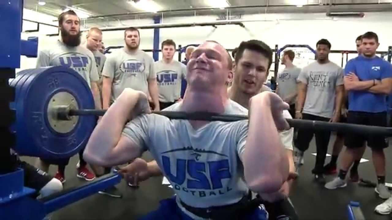 2015 Cougar Football Weight Training