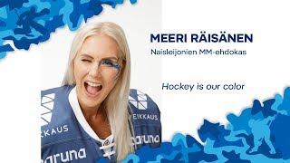 Naisten MM-ehdokkaat esittäytyvät - Maalivahti Meeri Räisänen