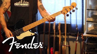 Against Me's Andrew Seward Demos Fender Pawn Shop Reverse Jag Bass | Fender