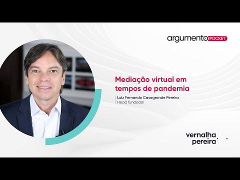 Mediação virtual em tempos de pandemia | Argumento Pocket 07