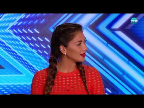 Nicole Scherzinger as Kermit Doing Adele - The X Factor UK on AXS TV