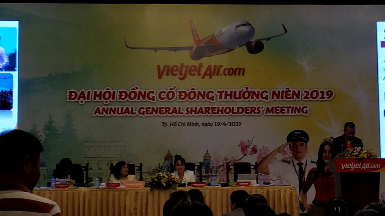 Công ty cổ phần Hàng không VietJet ✈️🚀 Đại hội cổ đông Vietjet Air VJC  phần 3/8