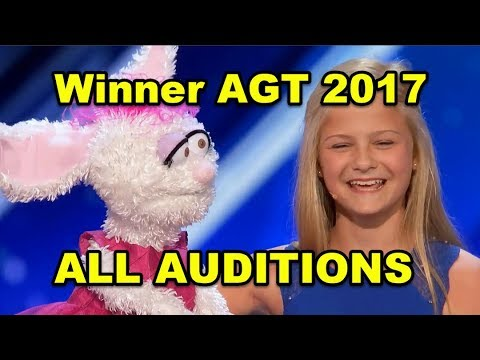 Darci Lynne's Journey to WIN America's Got Talent 2017 (All Darci's Auditions)