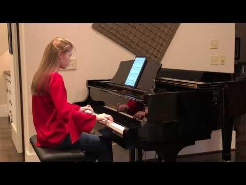Matt Riley's Carol Of The Bells/God Rest Ye Merry Gentlemen Advanced Piano Solo - Allie Heard