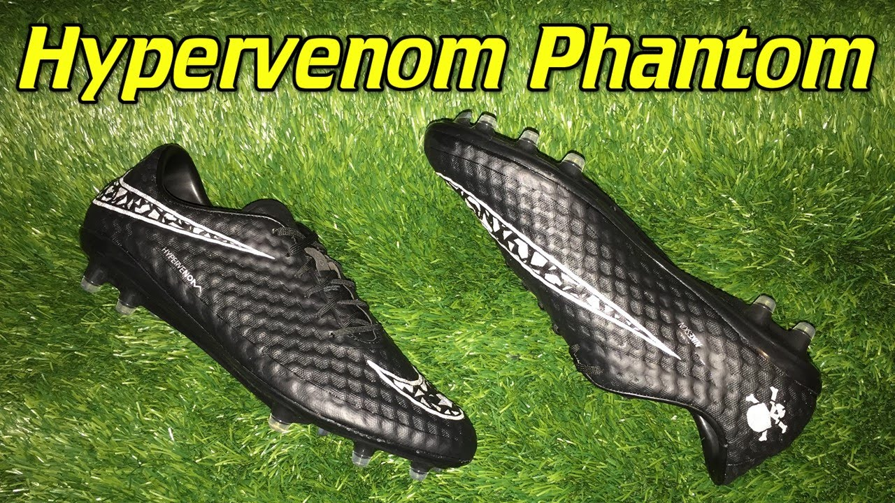 new arrival fff28 5b7dc Nike Hypervenom Phantom Academy Pack (Blackout) - Review + On Feet