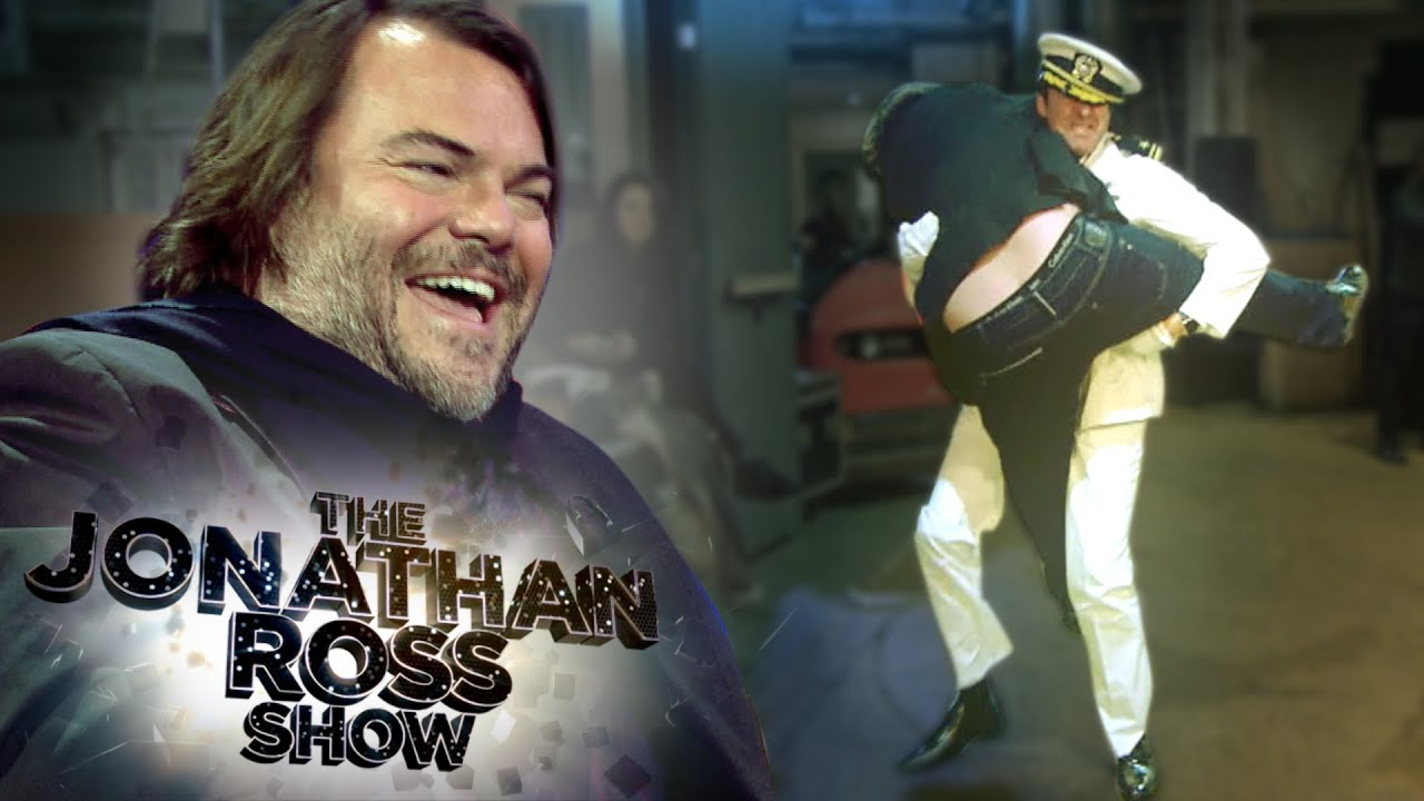 An ficer and a Gentleman Spoof With Jack Black Jonathan Ross