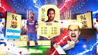 FIFA 20 : OMG LIONEL MESSI IN A PACK !! 😱🔥