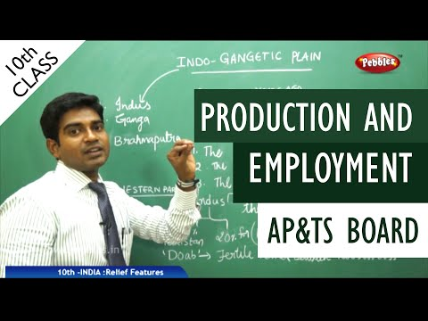 production and employment full lesson | Class 10 Social studies | AP&TS syllabus