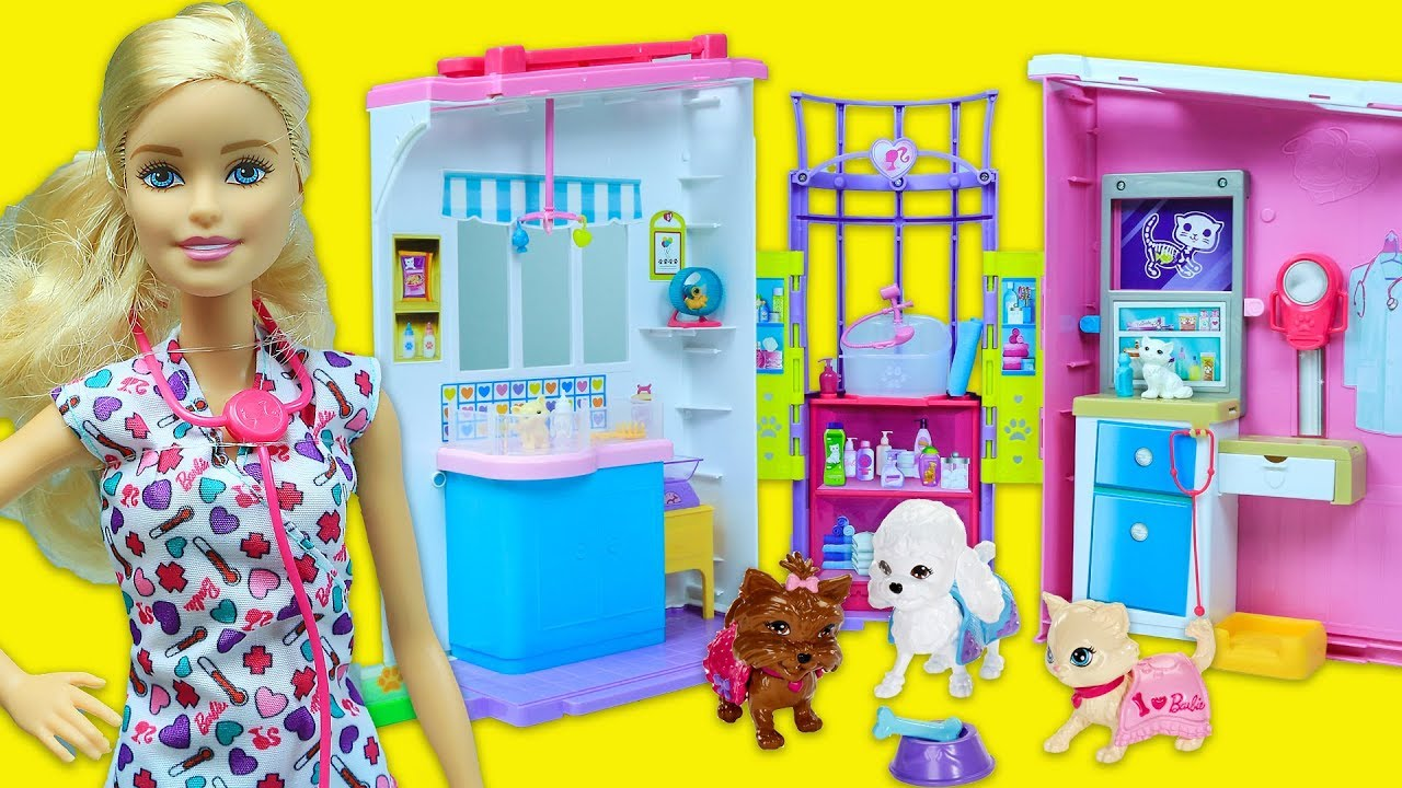 Barbie Veteriner Seti | Barbie's Vet Set | EvcilikTv