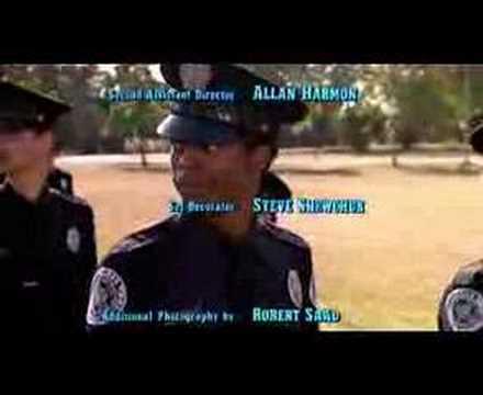 Police Academy ending credits
