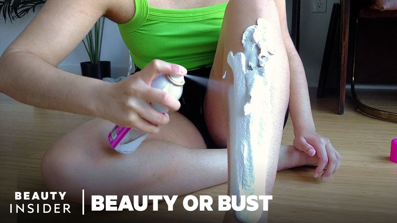 Foam Spray Claims To Remove Body Hair In Minutes | Beauty Or Bust