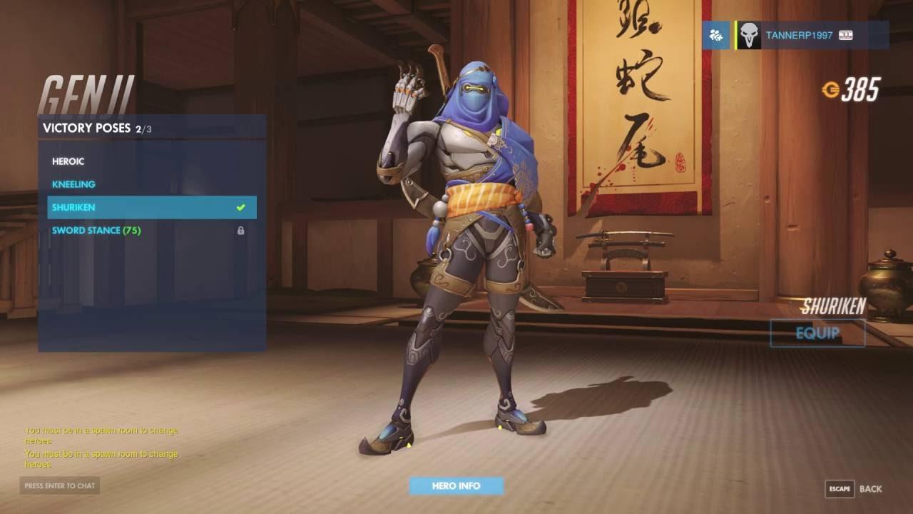 how to get the overwatch genji skin
