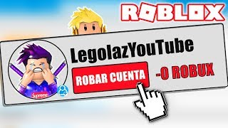 I ENTER VOTRE ACCOUNT ET COST VOTRE ROBUX TO MY FRIEND IN ROBLOX! 😂⚠️ RODNY RODNY