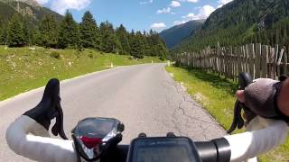 Kühtai Rennrad Abfahrt Gopro HD Hero2 104 kmh
