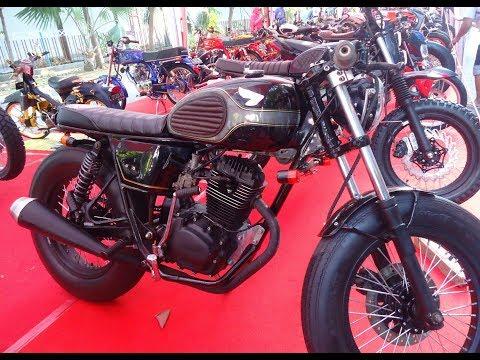 Modifikasi CB 100 Custom Cafe Racer Indonesia
