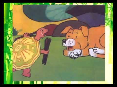 chuyện cổ tích Con Chim Xanh, chuyện Khỉ, Rùa và Chó, chuyện Trống Choai và Mặt Trời