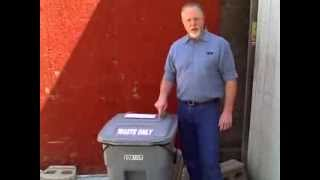 Raccoon-proof Your Garbage Can
