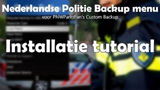 Nederlandse Politie Backup menu - installatie tutorial [GTA 5] [LSPDFR]