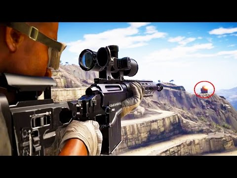THE IMPOSSIBLE SNIPER SHOT! (Ghost Recon Wildlands CoOp Game