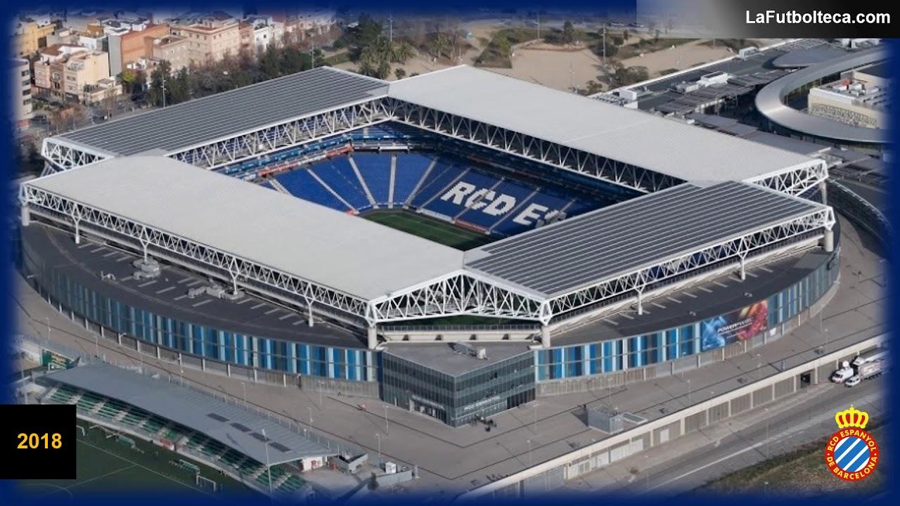 Excelente calidad Venta de descuento 2019 colección completa Evolución estadio RCDE Stadium Reial Club Deportiu Espanyol