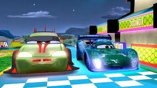 Komodo VS Carla Veloso & Lightning Mcqueen Disney Cars Racing Rivals Gameplay